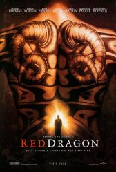 Red Dragon movie poster (original 27x40 advance) VG