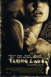 Taking Lives movie poster [Angelina Jolie] 27x40 original