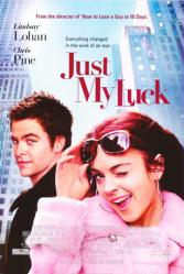 Just My Luck movie poster [Lindsay Lohan, Chris Pine] 27x40