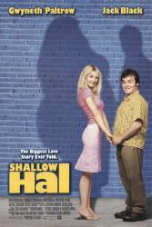 Shallow Hal movie posrer [Jack Black, Gwyneth Paltrow] 27x40