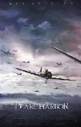 Pearl Harbor movie poster [planes coming to attack] video poster/NM