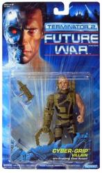 Terminator 2 Future War: Cyber-Grip Villain figure (Kenner/1992)