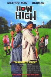 How High movie poster [Redman, Method Man] 27x40 video version
