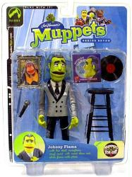 Muppets (Series 7) Johnny Fiama action figure (Palisades/2004)