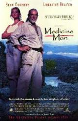 Medicine Man movie poster [Sean Connery/Lorraine Bracco] video poster