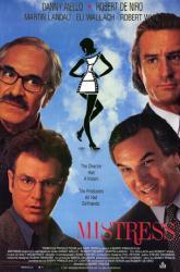 Mistress movie poster [Robert DeNiro, Martin Landau] 27x40