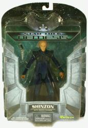 Star Trek Nemesis: Shinzon action figure (Art Asylum/2002)