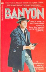 Banyon paperback book/1971 [Robert Forster on cover]