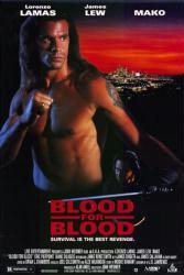 Blood for Blood movie poster [Lorenzo Lamas] 27x40