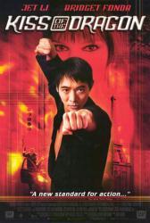 Kiss of the Dragon movie poster [Jet Li & Bridget Fonda] video poster
