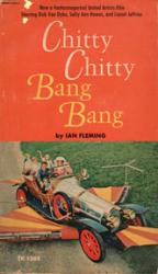 Chitty Chitty Bang Bang paperback book/1972 [Movie Tie-In]