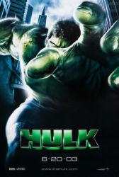 Hulk movie poster (2003) original 27x40 advance teaser