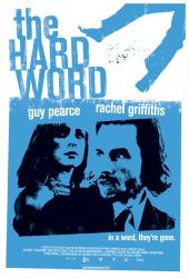 The Hard Word movie poster [Guy Pearce, Rachel Griffiths] 27x40