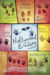Hollywood Ending movie poster [a Woody Allen film] original 27x40