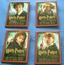 Harry Potter and the Chamber of Secrets-Set of 4 Promotional Character Pins/Buttons (Nr. Mint)