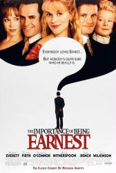 The Importance of Being Earnest poster [Rupert Everett, Colin Firth]