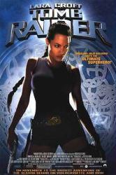 Lara Croft: Tomb Raider movie poster [Angelina Jolie] video poster