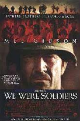 We Were Soldiers movie poster [Mel Gibson] 27x40 video version