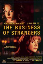 The Business of Strangers poster /Julia Stiles/Stockard Channing 27x40