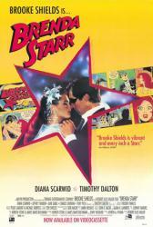 Brenda Starr movie poster [Brooke Shields/Timothy Dalton] video poster