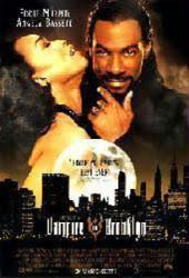 Vampire In Brooklyn movie poster [Eddie Murphy & Angela Bassett] video