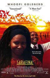 Sarafina movie poster [Whoopi Goldberg] video version