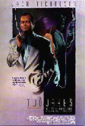 The Two Jakes movie poster [Jack Nicholson] 27x40 video version NM