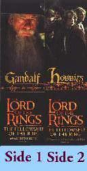 Lord of the Rings [Fellowship of the Ring] (Gandalf/Hobbits Bookmark)
