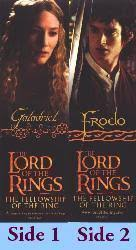 Lord of the Rings [Fellowship of the Ring] Frodo/Galadriel bookmark