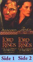 Lord of the Rings, The [Fellowship of the Ring] (Aragorn/Arwen Bookmark) Nr. Mint
