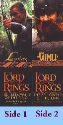 Lord of the Rings, The [Fellowship of the Ring] (Legolas/Gimli Bookmark) Nr. Mint
