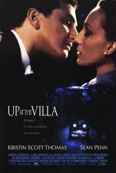 Up at the Villa movie poster [Sean Penn & Kristin Scott Thomas] VG