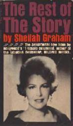 Sheilah Graham: The Rest of the Story paperback book/1965