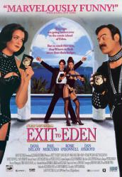 Exit to Eden movie poster [Rosie O'Donnell, Dan Aykroyd, Dana Delaney]