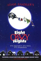 Eight Crazy Nights movie poster [Adam Sandler] original 27x40 advance