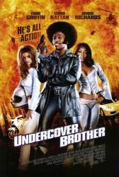 Undercover Brother movie poster [Eddie Griffin & Denise Richards]