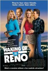 Waking Up In Reno movie poster [Billy Bob Thornton/Theron/Swayze] VG