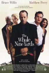 The Whole Nine Yards movie poster [Bruce Willis/Matthew Perry] VG