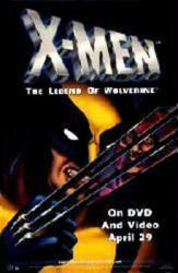 X-Men: The Legend of Wolverine movie poster (animated)