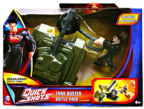 NEW MAN of Steel Quickshots Battle Pack