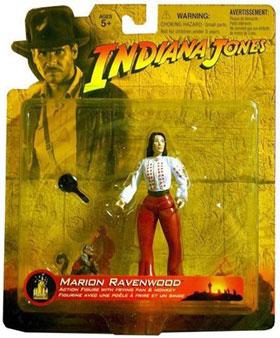 INDIANA JONES MARION RAVENWOOD ACTION FIGURE DISNEY 2003