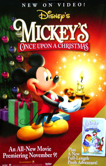 Christmas movie poster [Mickey Mouse] 26x40