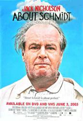 About Schmidt movie poster [Jack Nicholson] 27x40 video version
