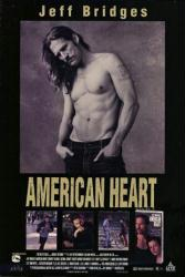 American Heart movie poster [Jeff Bridges, Edward Furlong] 27x40