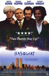 Basquiat poster [Jeffrey Wright/David Bowie/Dennis Hopper/Gary Oldman]