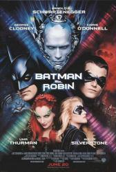 Batman & Robin movie poster [George Clooney/Arnold Schwarzenegger]