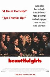 Beautiful Girls movie poster [Timothy Hutton/Matt Dillon/Uma Thurman]