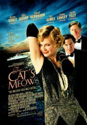 Cat's Meow, The [a Peter Bogdanovich film: w/ Kirsten Dunst] (Video Movie Poster) VG