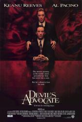 The Devil's Advocate movie poster [Keanu Reeves & Al Pacino] video