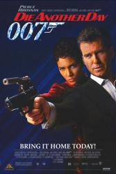 Die Another Day movie poster [Pierce Brosnan, Halle Berry] James Bond